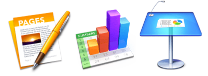 cursus Pages, Numbers en Keynote